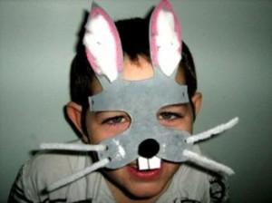 Easter Bunny Masksm