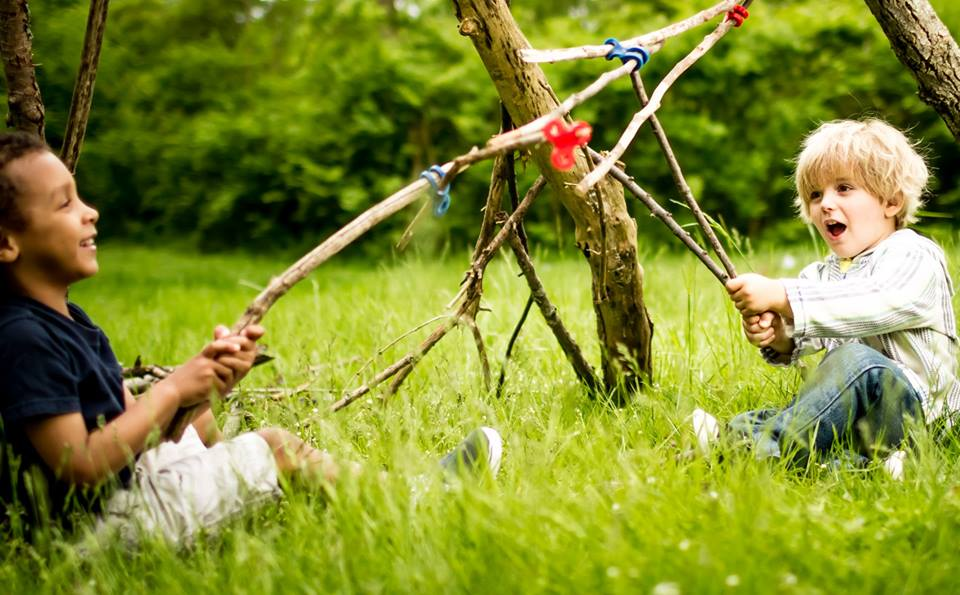 nature stick play outdoor lets playing children sticks connectors outdoors child rubber build benefits forts toys finlee toddlers action handmade