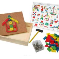 Finlee and Me – Wooden Toys – Tap Tap Hammering Set for Kids