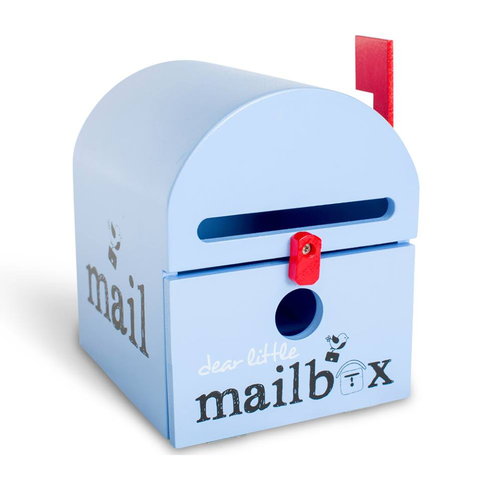 Blue Mailbox For Kids   Kids Toy Mailbox In Blue