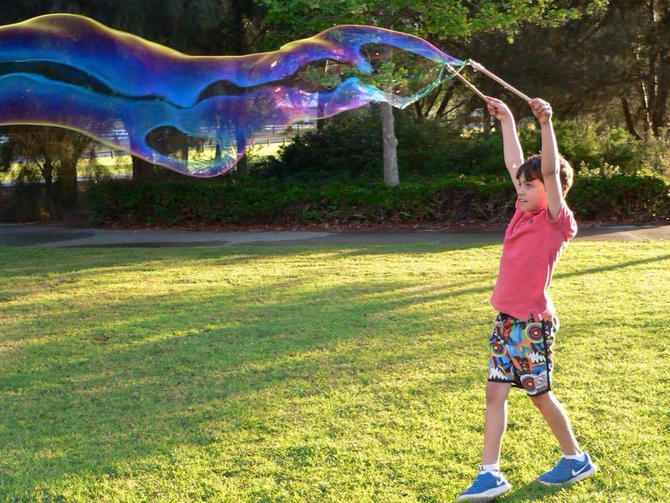 30 Days 30 Ways to Connect with Your Kids Mega Bubble Kit for Kids DAY5