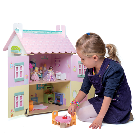 Finlee and Me – Wooden Dolls Houses – Le Toy Van Kids Dollhouse {Sweetheart Cottage