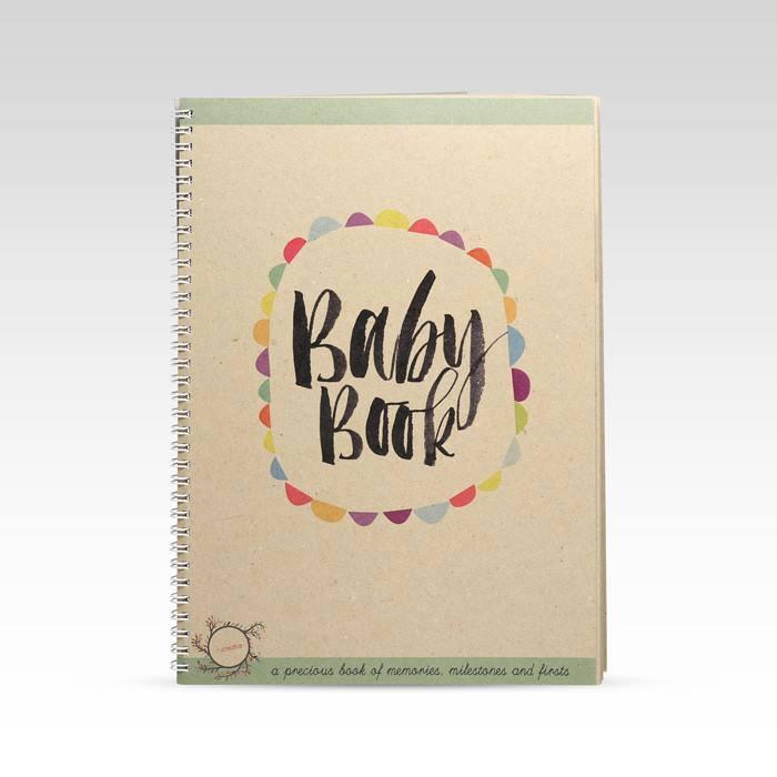 baby memory keepsake book