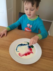 science-experiment-for-kids-milk-painting-finlee-and-me