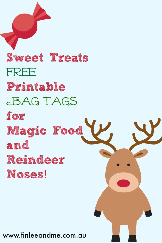 picture relating to Printable Reindeer Food Tags referred to as Xmas Exciting Printables Reindeer Meals Bag Tags Finlee