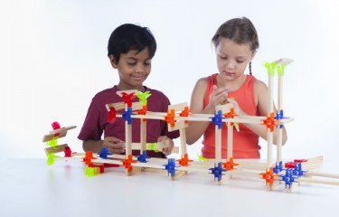Building Blocks for Kids Brackitz The Architect 100 Pieces Set