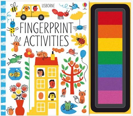 Finlee and Me Kids Books Fingerprint Activities