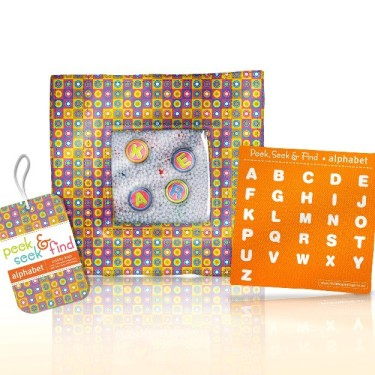 Peek Seek and Find Alphabet Activity Bag