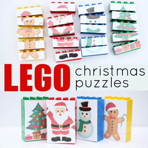 30 Days of Christmas Cheer Lego Nativity Puzzles
