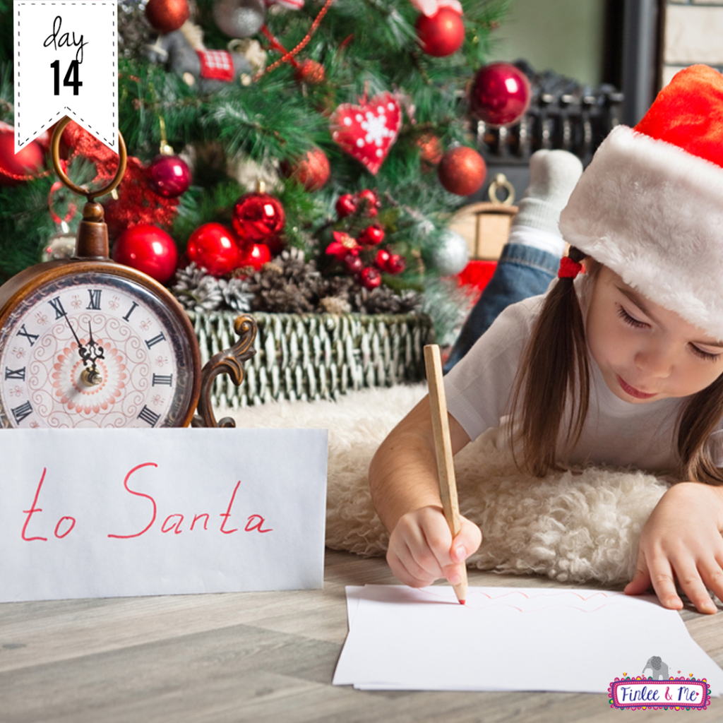30 Days of Christmas Cheer Writing Santa Letters