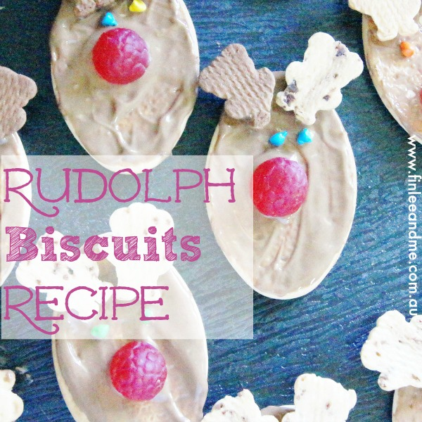 Cooking with Kids: Rudolf Biscuits