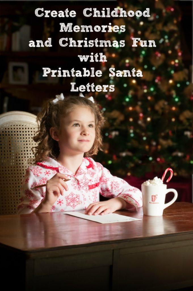 Create Childhood Memories and Christmas Fun with Printable Santa Letters
