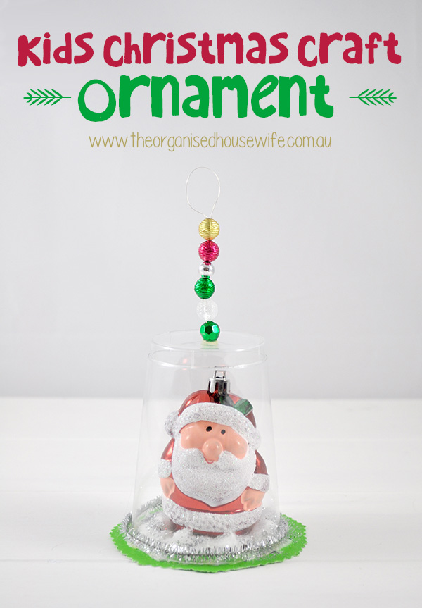 Day 12 Kids Christmas Craft Ornament