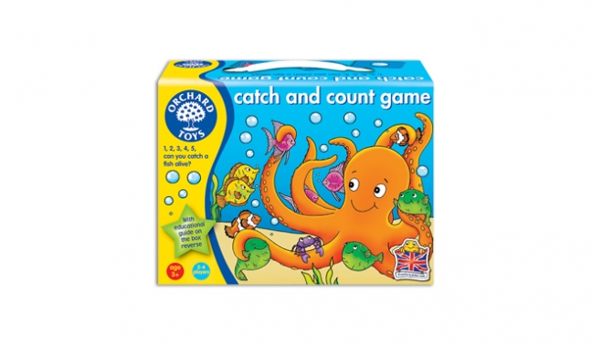 Finlee and Me Games for Kids Catch and Count Game
