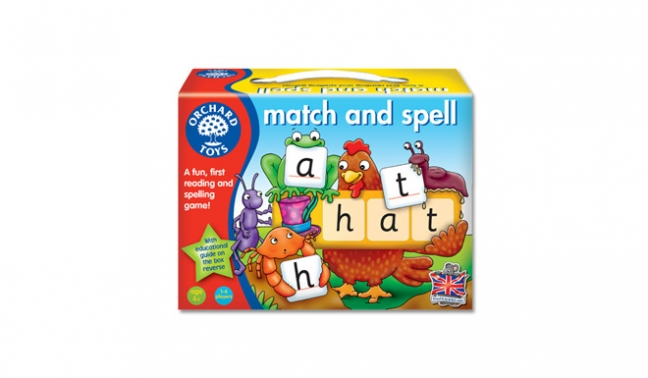 Finlee and Me Games for Kids Match and Spell Game