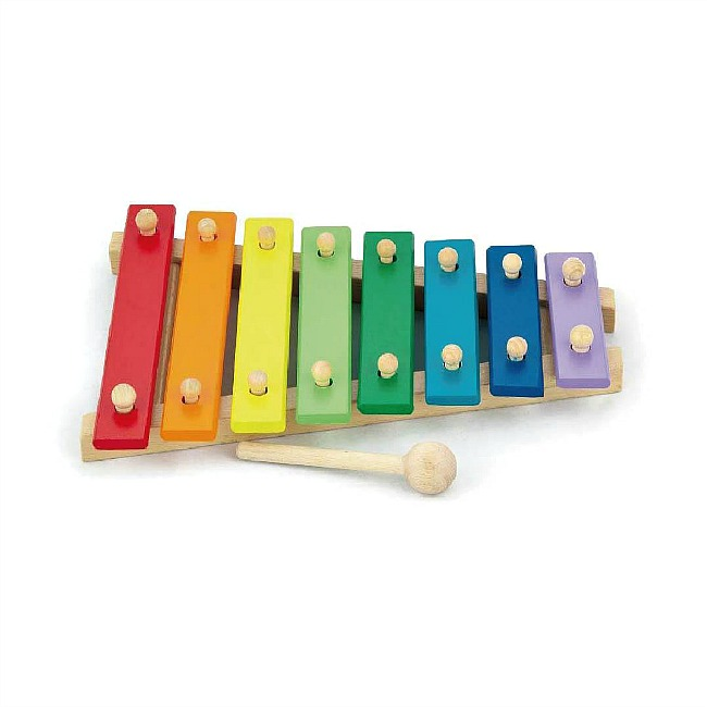 30 days 30 ways to connect with your child Viga-Kids Musical Instruments-Wooden Xylophone