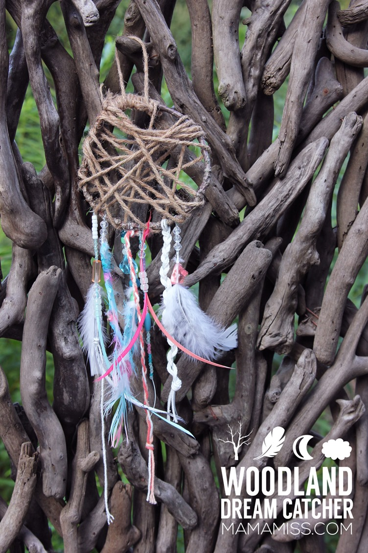 30 Day 30 ways to Connect with Kids Woodland Dreamcatcher DAY 1