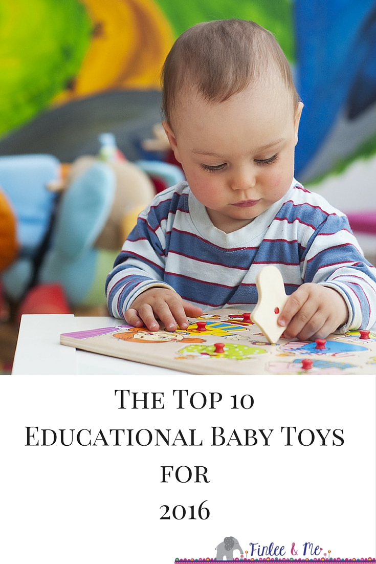 Top 10 Educational Baby Toys of 2016 PINTEREST