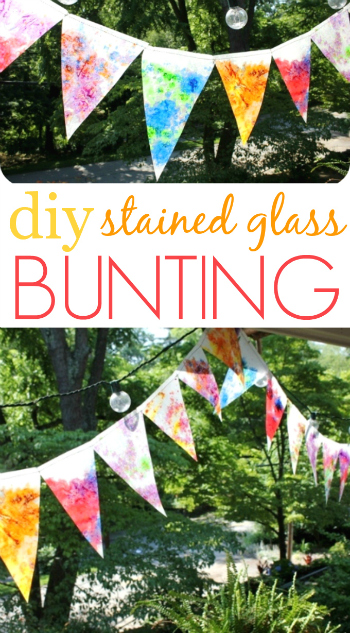 30 Days 30 Ways Connect with Kids How-to-Make-a-Bunting-Stained-Glass-350 Day 22