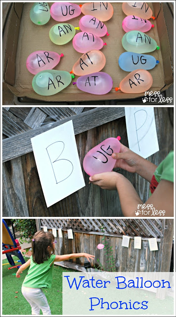 30 Days 30 Ways of Connecting with Your Kids Water_balloon_phonics_game DAY 28