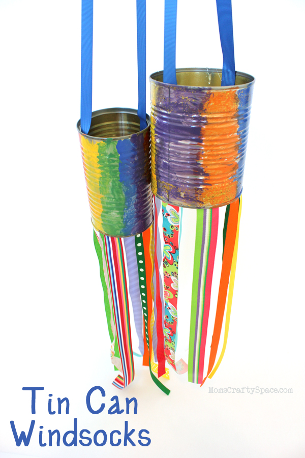 30 Days 30 Ways to Connect with Kids Tin Can Windsocks Day 26