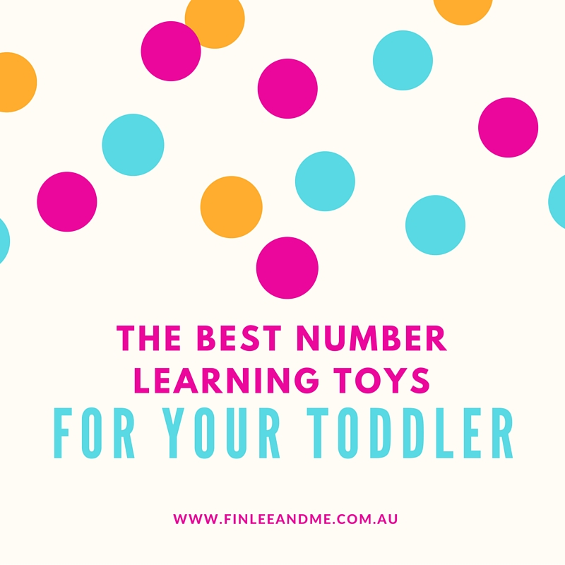 the best number learning toys for toddlers