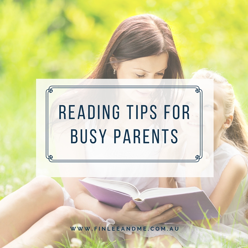 Reading Tips for Parents