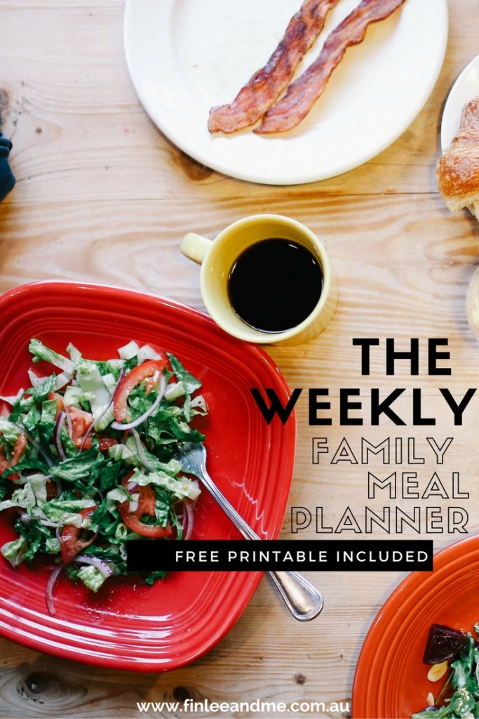 The Wonders of a Weekly Family Meal Planner- Use Menu Planning to Make Meals Prep and More Easy and Stress-Free PINTEREST