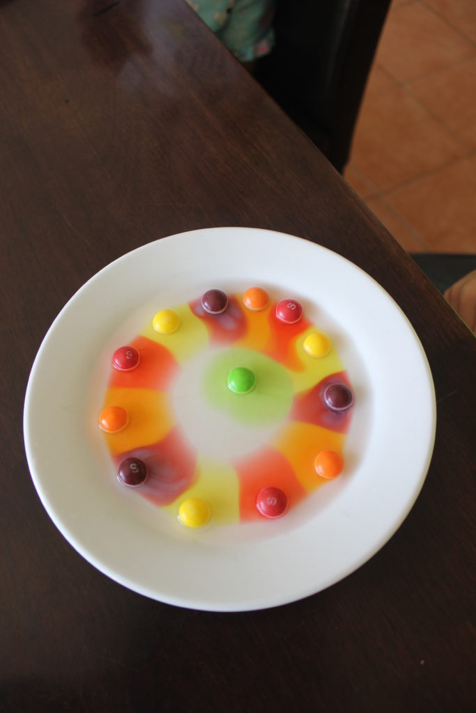 skittles science experient