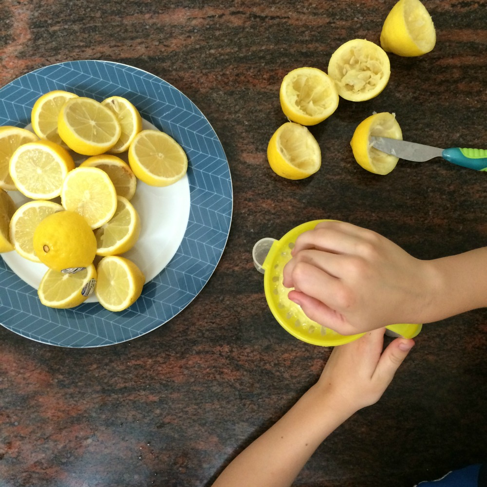 Easy Lemonade Recipe For Kids Cooking With Kids Finlee Me