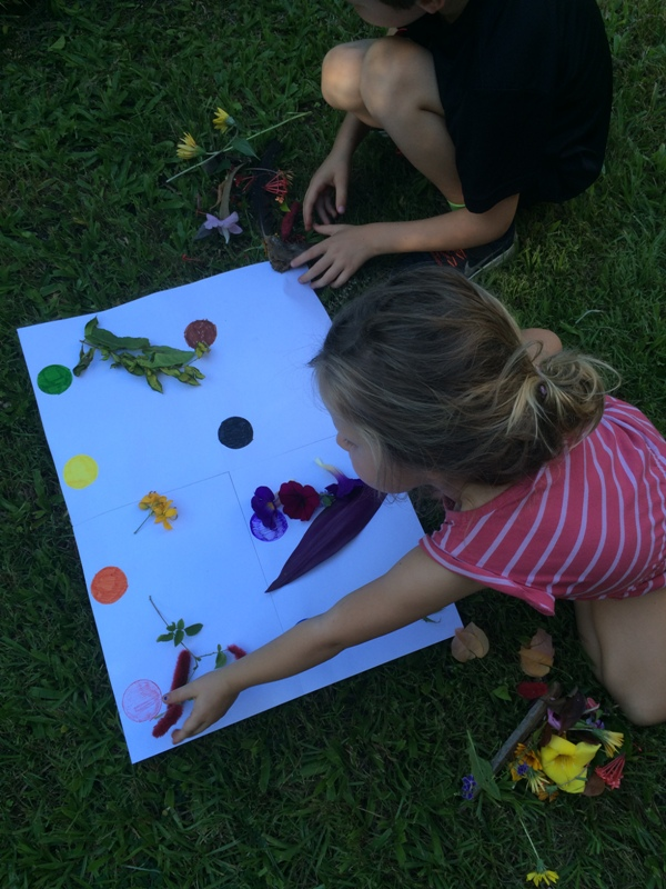 Outdoor nature activities with kids collage, Finlee and Me