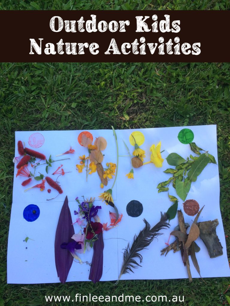 Outdoor nature activities for kids with Finlee and Me