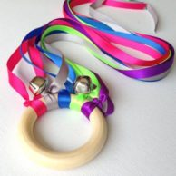 Dancing Ribbon Ring - Fun with a Touch of Greysm