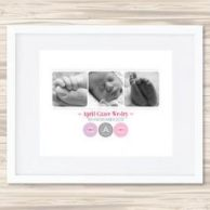Personalised Birth Details Prints Aprilsm