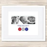 Personalised Birth Details Prints Zanesm