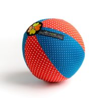 red-and-blue-dots-balloon-ball