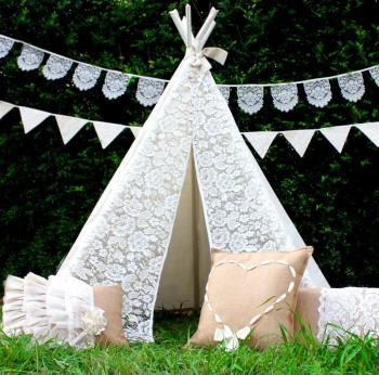 THINK ... & Front Lace Kids Teepee Tent | Buy Kids Teepees Online | Finlee u0026 Me