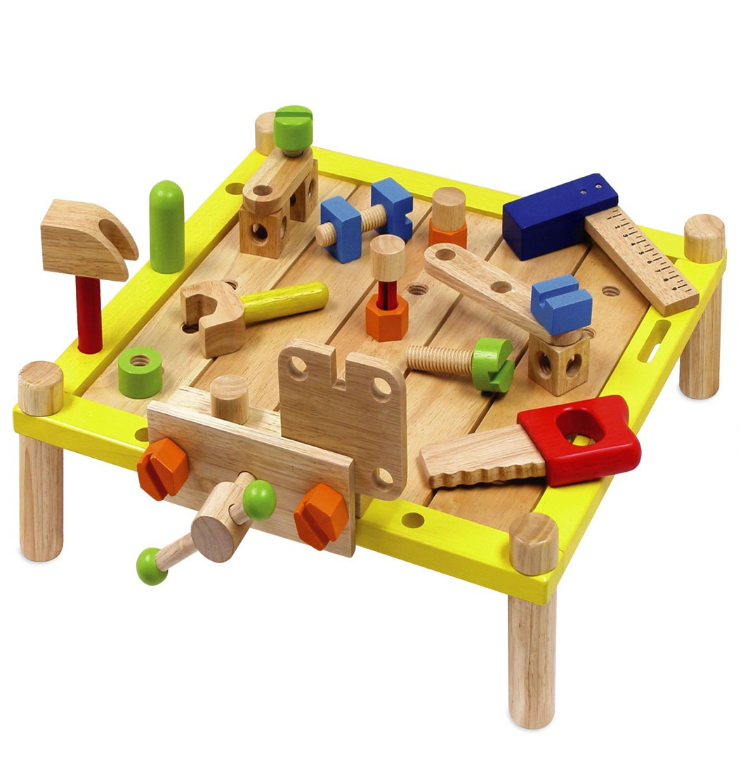 Artiwood – Wooden Toys – Activity Work Bench