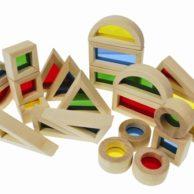 Best Construction Toys: Rainbow Building Blocks