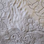 Beach Stamps for Kids - Sand 1