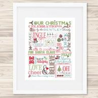 family christmas chart