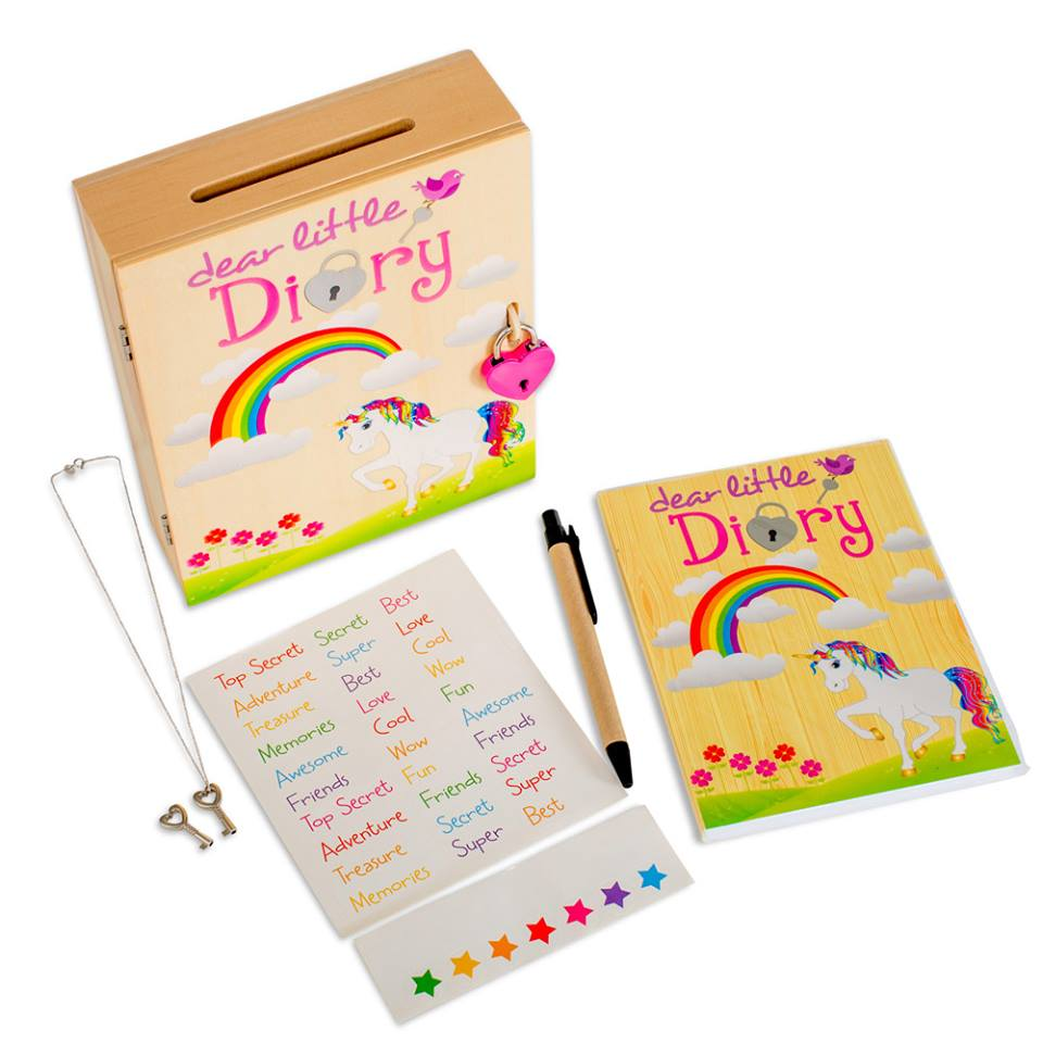 locked-diary-for-kids-unicorn
