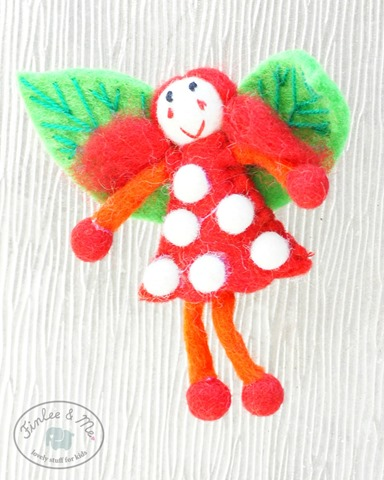felt-fairy-for-kids-red-orange