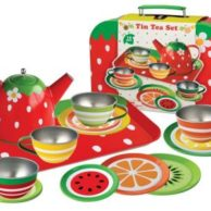 Finlee and Me – Kids Tea Sets – Childrens Tin Tea Set {Fruits}