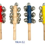 Wooden Musical Toys - Jingle Sticks with Bells