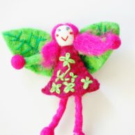 felt-fairy-for-kids-pink-with-flowers