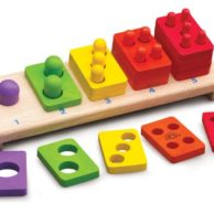 Finlee and Me- Educational Toys- 1-5 Wooden Stacker