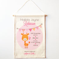 girafee-birth-print-wall-banner