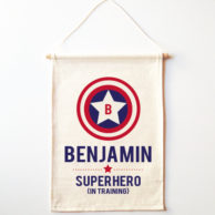 superhero-in-training-wall-banner