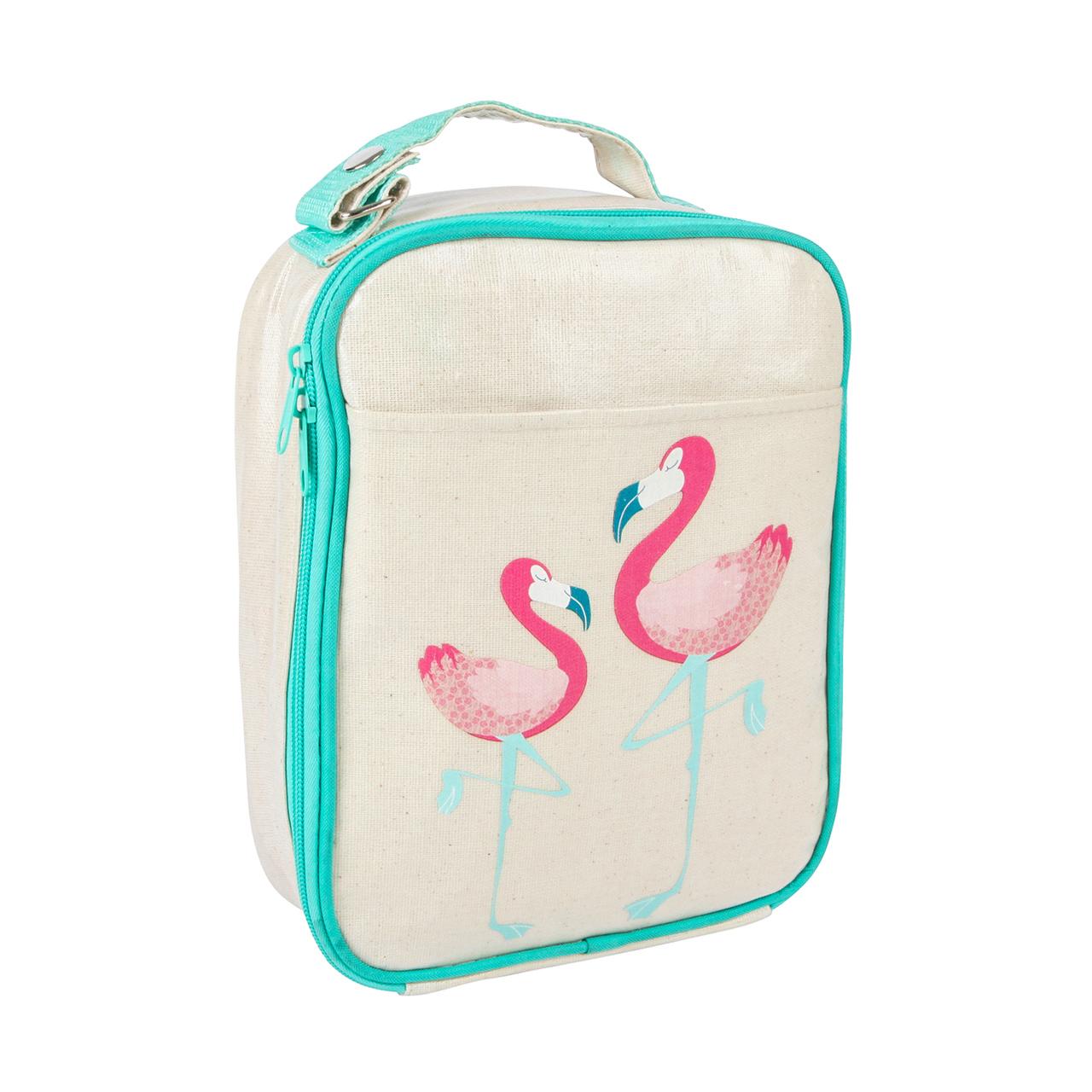apple-and-mint-aqua-flamingo-lunch-bag